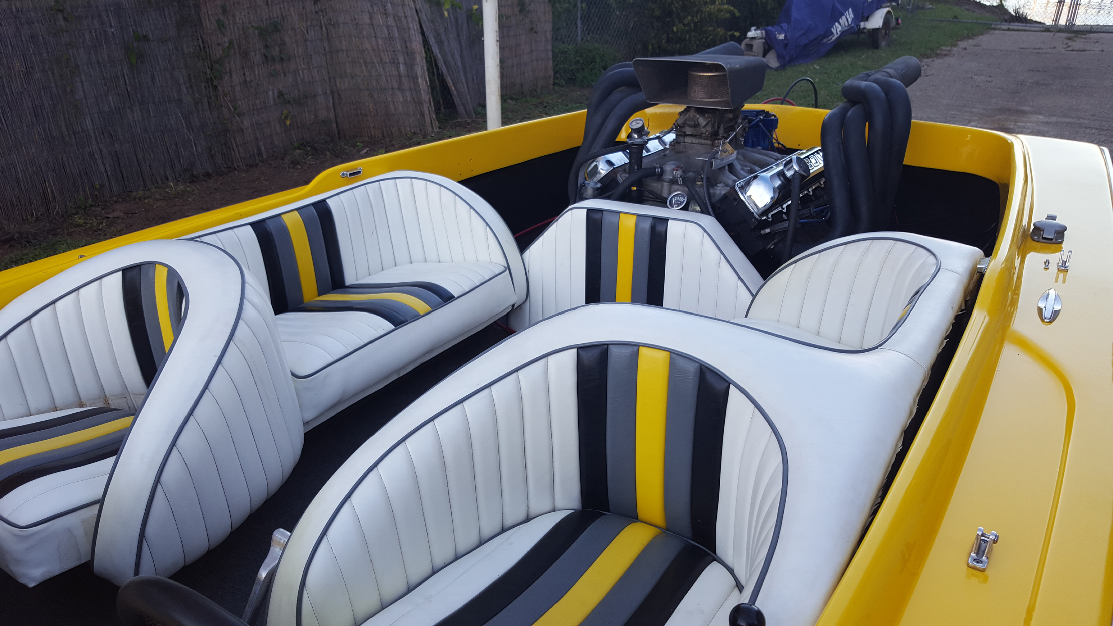 upholstered boat and Yachts seats
